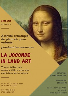 activite-de-plein-air-pour-enfants-la-joconde-in-land-art