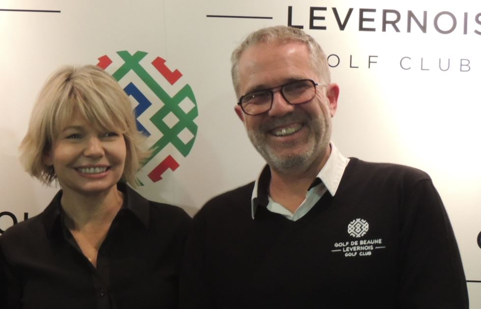 Isabelle Pierrey  Thierry Coursin - Golf de Beaune-Levernois