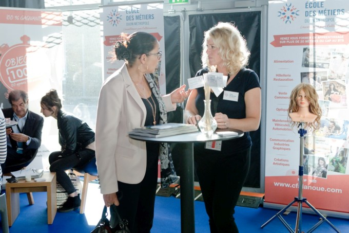 Les stands de la convention CPME
