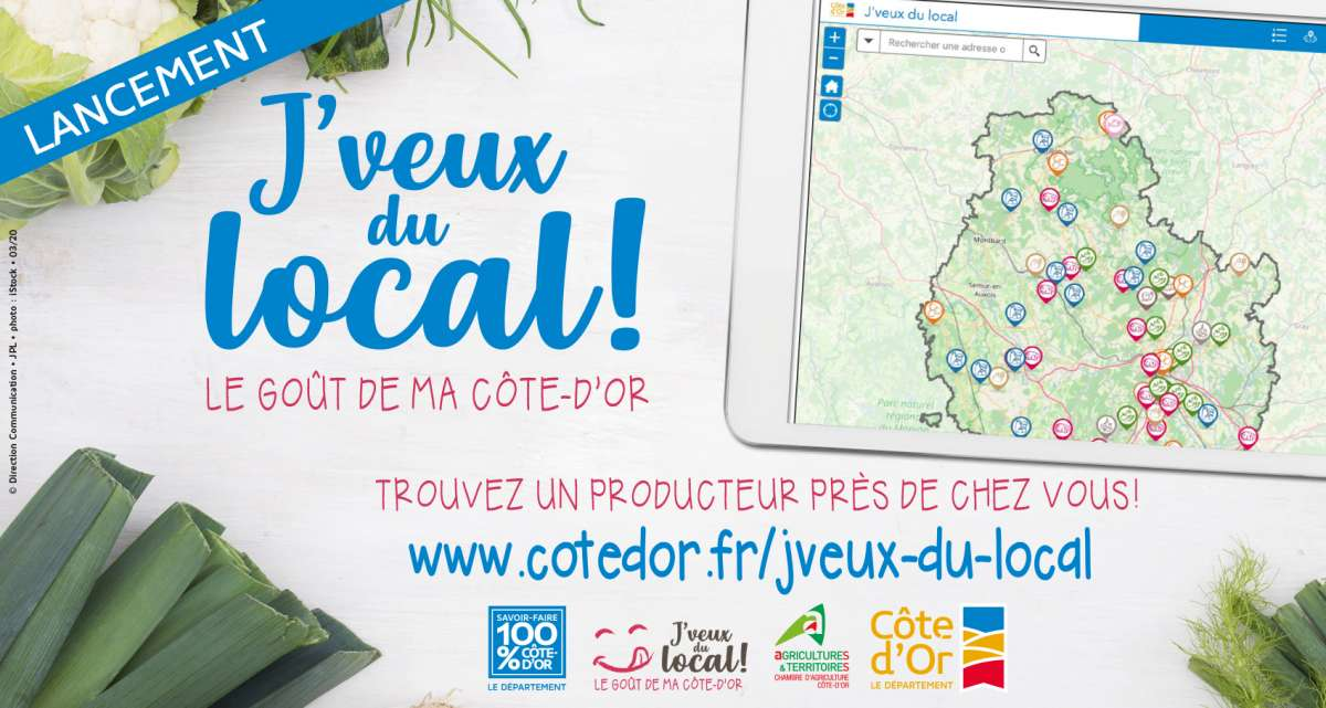 J'veux du local - Le goût de ma Côte-d'Or