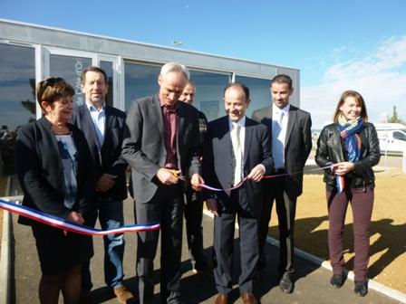 Les nouveaux locaux de la chambre d 39 agriculture inaugur s for Chambre agriculture bourgogne