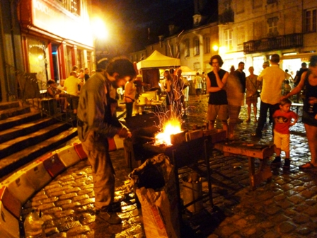 MARCHES NOCTURNES 2015 EN COTE D'OR ECHO DES COMMUNES