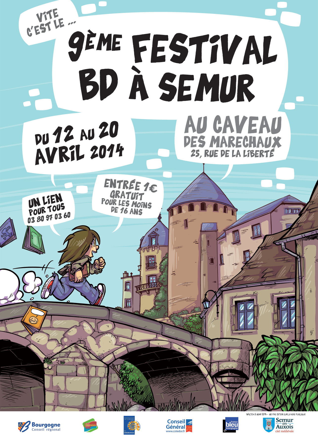 9ème festival BD à Semur-en-Auxois