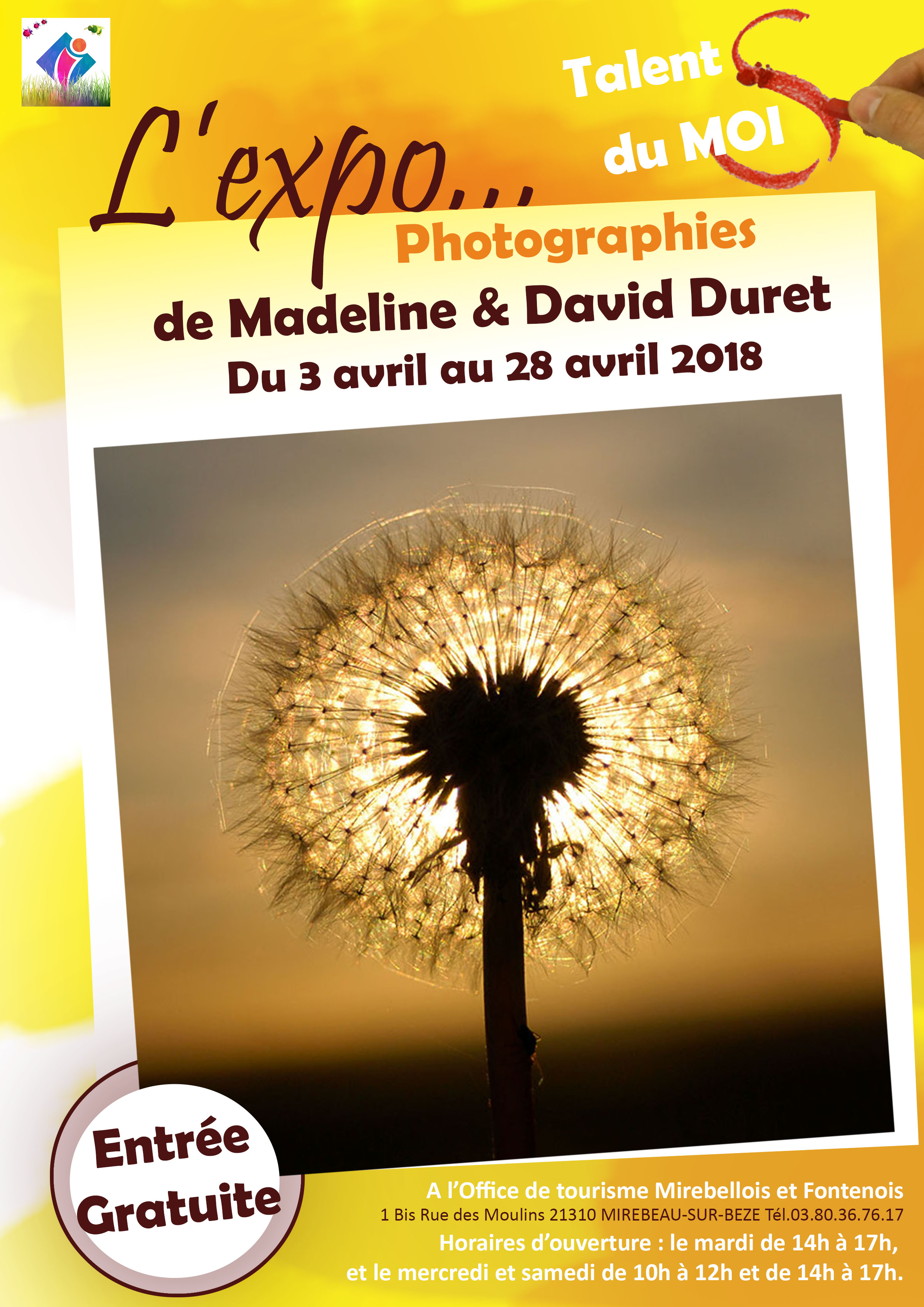 "Exposition photo ""Madeline et David Duret"""