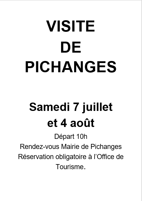 Visite de Pichanges