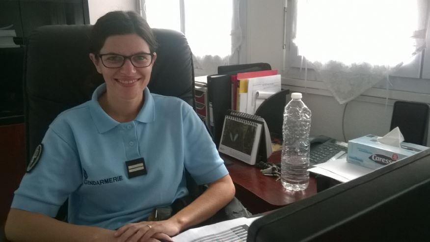 Isabelle MANCEAU, gendarme Echo des communes