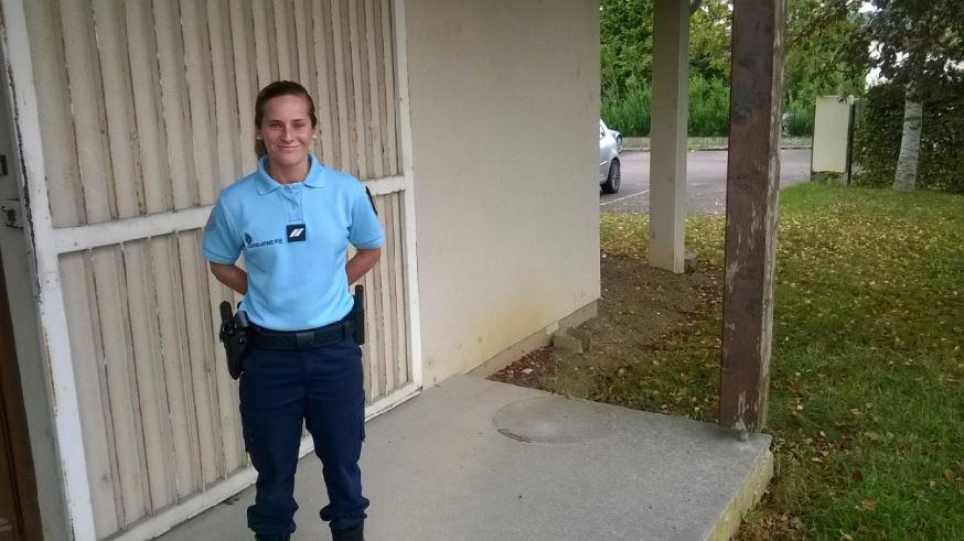 Ingrid PINTO Gendarme Echo des communes