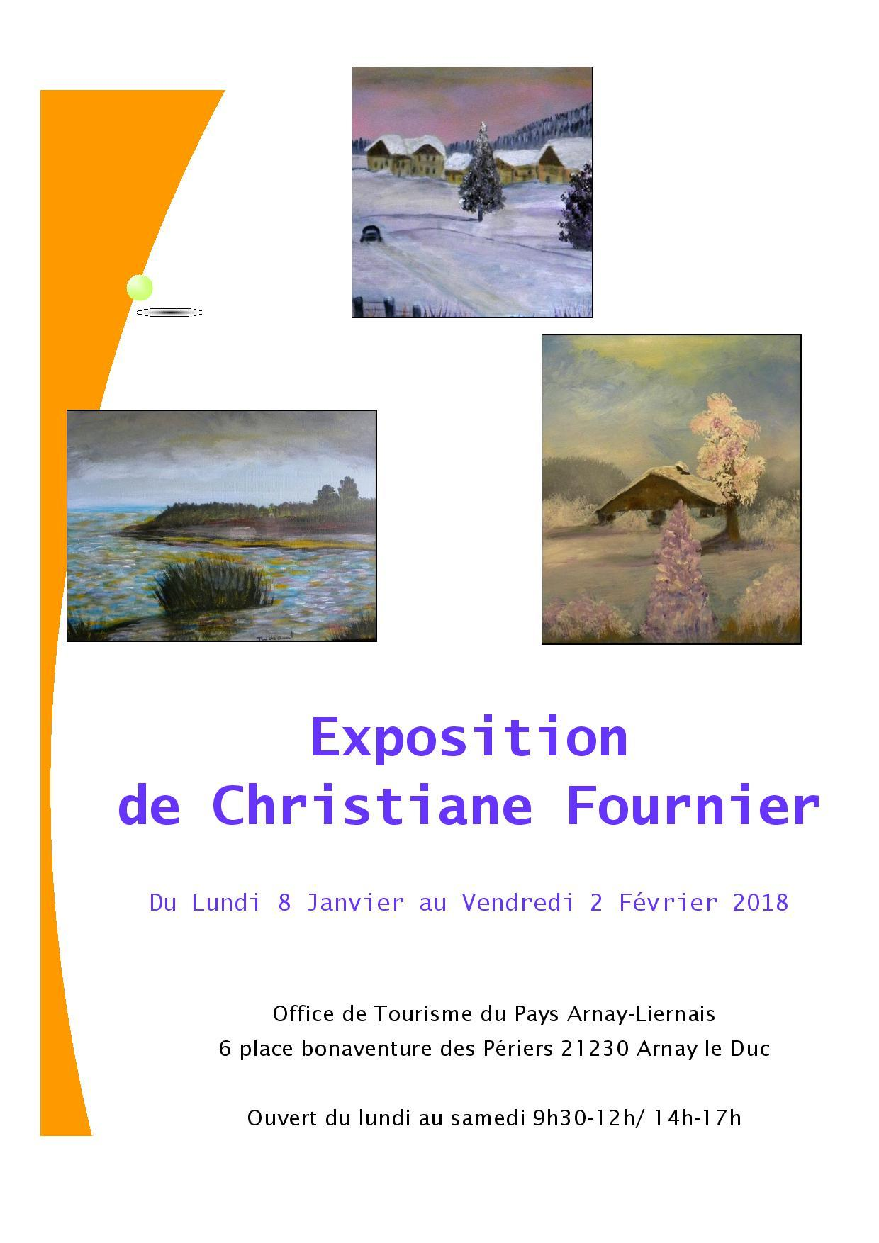 Exposition Christiane FOURNIER