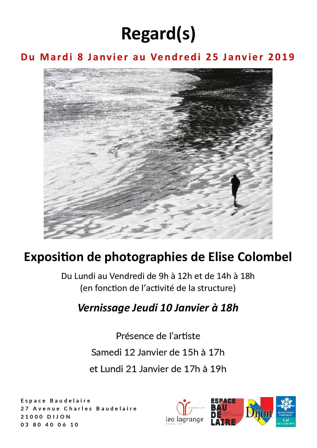 Exposition de photographies de Élise Colombel