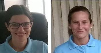 Portrait de deux femmes gendarmes...
